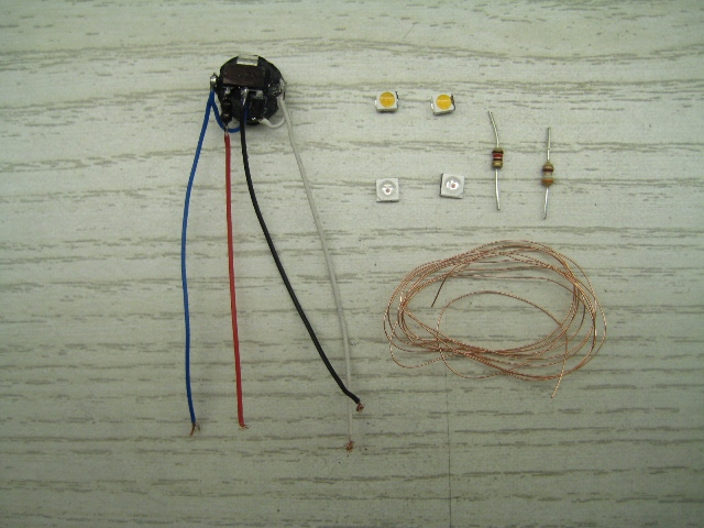 DoSlot Beleuchtungs-Set - lightweight 1: DoSlot-Slotracing-Shop